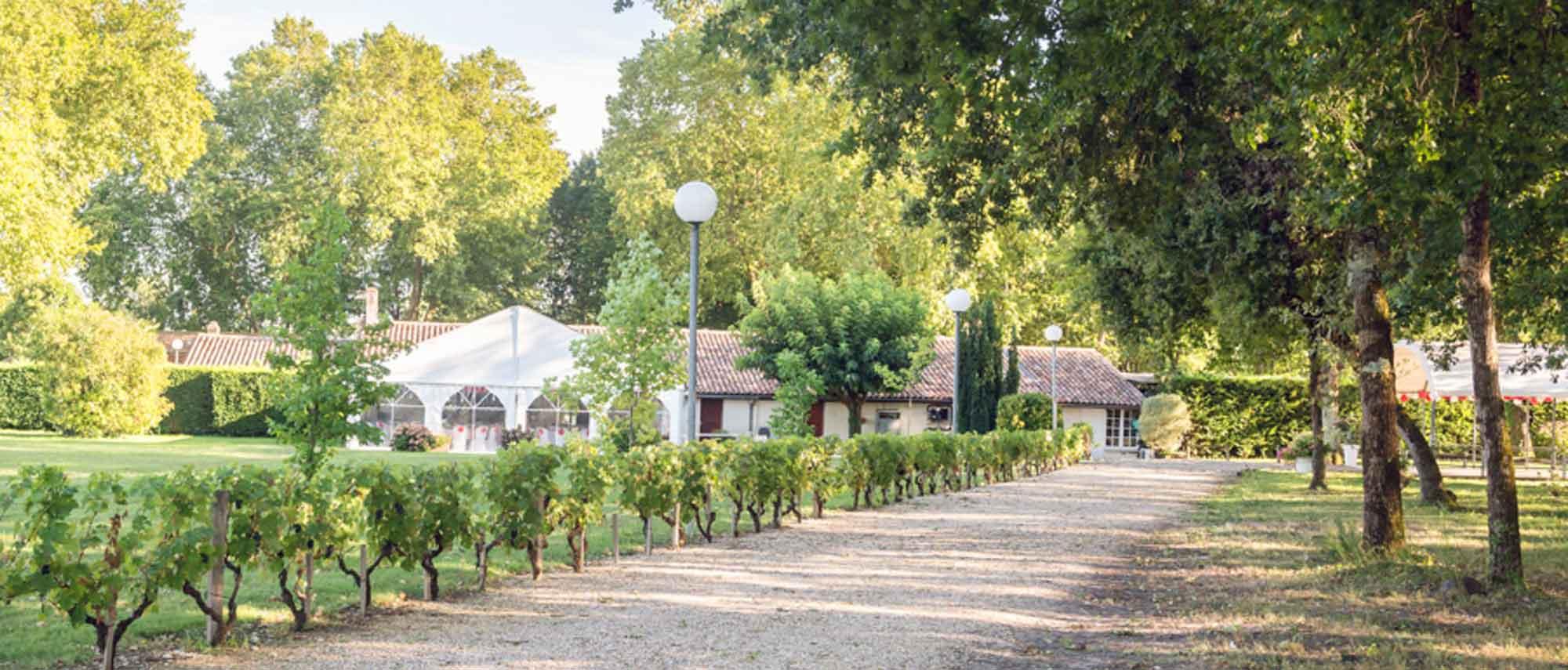 Domaine Mariage Champetre Bordeaux Location De Salle Et Traiteur