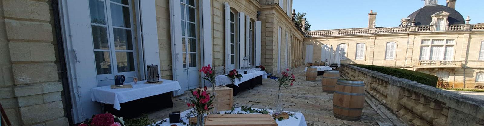 traiteur reception mariage evenementiel bordeaux - Traiteur Mariage Gironde